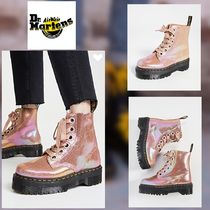 Dr Martens Platform Casual Style Leather Ankle & Booties Boots