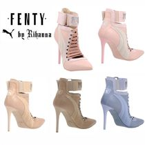 FENTY Collaboration Plain Pin Heels High Heel Boots
