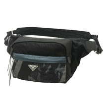PRADA Camouflage Casual Style Shoulder Bags