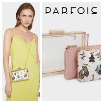 PARFOIS Flower Patterns 2WAY Chain Party Style Party Bags