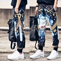 Flower Patterns Street Style Sarouel Pants