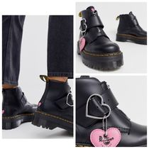 Dr Martens Heart Round Toe Casual Style Street Style