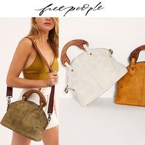 Free People Plain Khaki Totes