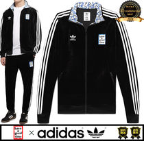 have a good time Unisex Street Style Plain Track Jackets
