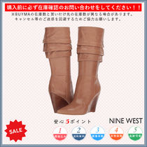 Nine West Casual Style Wedge Boots