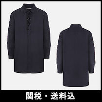Saint Laurent Linen Plain Shirts & Blouses
