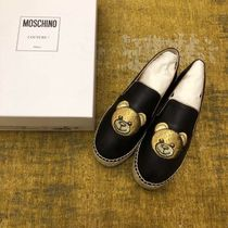 Moschino Street Style Leather Shoes