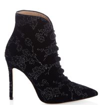 Gianvito Rossi Flower Patterns Pin Heels Ankle & Booties Boots