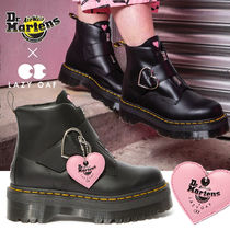 Dr Martens Platform Round Toe Casual Style Street Style Collaboration