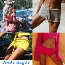 ANDI BAGUS Short Casual Style Plain Shorts