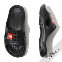 THE NORTH FACE Street Style Plain Shower Shoes Shower Sandals