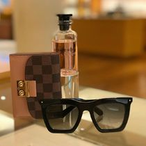 Louis Vuitton Blended Fabrics Square Sunglasses