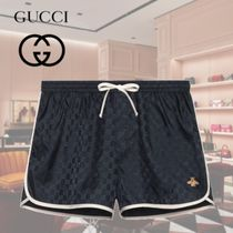 GUCCI Monogram Blended Fabrics Other Animal Patterns Beachwear