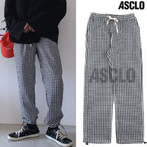ASCLO Slax Pants Glen Patterns Street Style Collaboration
