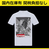 MONCLER Crew Neck Cotton Short Sleeves T-Shirts