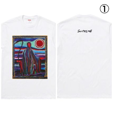 Supreme More T-Shirts Unisex Street Style Short Sleeves T-Shirts 2