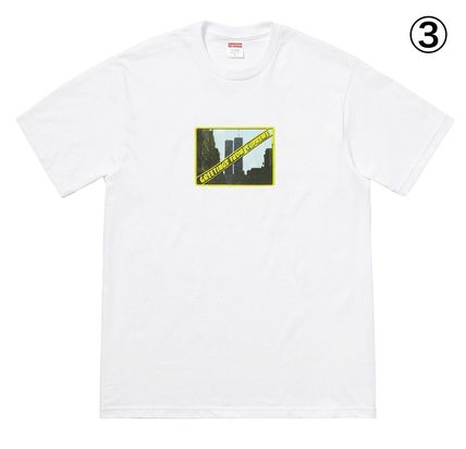 Supreme More T-Shirts Unisex Street Style Short Sleeves T-Shirts 4