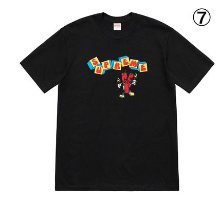 Supreme More T-Shirts Unisex Street Style Short Sleeves T-Shirts 8