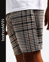 boohoo Printed Pants Other Check Patterns Street Style Shorts