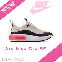Nike AIR MAX Casual Style Street Style Plain Low-Top Sneakers