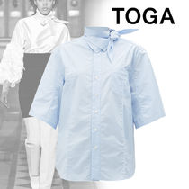 TOGA Plain Cotton Medium Shirts & Blouses