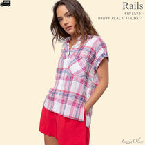 Ron Herman Other Check Patterns Casual Style Linen Medium Short Sleeves