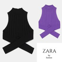 ZARA Rib Plain Medium Turtlenecks
