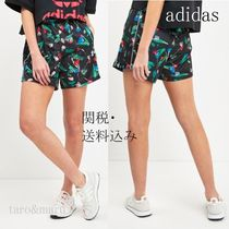 adidas Printed Pants Short Flower Patterns Casual Style