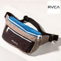 RVCA Casual Style Street Style Hip Packs