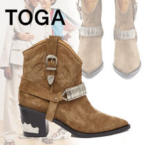 TOGA Suede Ankle & Booties Boots