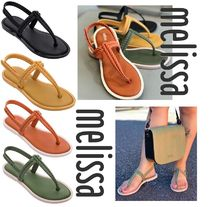Melissa Casual Style Collaboration Sport Sandals PVC Clothing