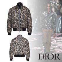 Christian Dior Street Style MA-1 Bomber Jackets