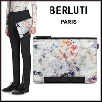 Berluti Nylon Clutches