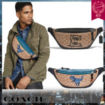 Coach Monogram Unisex Collaboration Other Animal Patterns