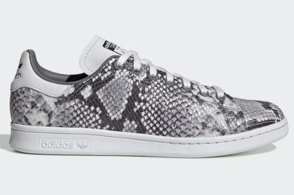 adidas STAN SMITH 2019 20AW Street Style Leather Python Sneakers (EH0151)