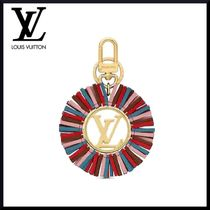 Louis Vuitton Blended Fabrics Leather Fringes Keychains & Bag Charms