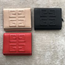GIVENCHY Unisex Lambskin Folding Wallets