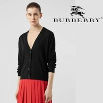 Burberry Other Check Patterns Casual Style Wool Street Style
