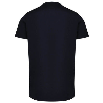 MONCLER Crew Neck Crew Neck Plain Cotton Short Sleeves Crew Neck T-Shirts 3