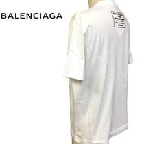 BALENCIAGA Cotton Short Sleeves T-Shirts