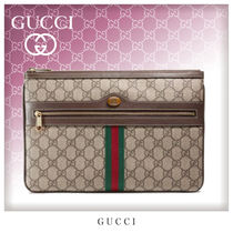 GUCCI Ophidia Unisex Canvas Bag in Bag Clutches
