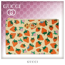 GUCCI Bag in Bag Leather Clutches