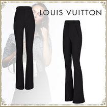 Louis Vuitton Wool Wide Leg Pants