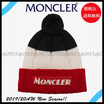 MONCLER Blended Fabrics Knit Hats