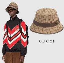 GUCCI Unisex Straw Hats