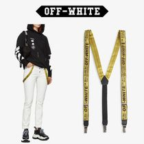 Off-White Unisex Street Style Belts
