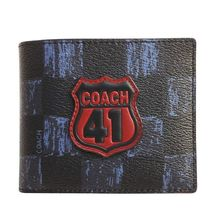 Coach Leather Folding Wallets