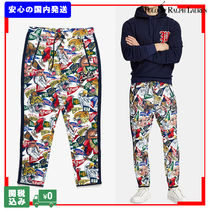 POLO RALPH LAUREN Printed Pants Tropical Patterns Unisex Street Style