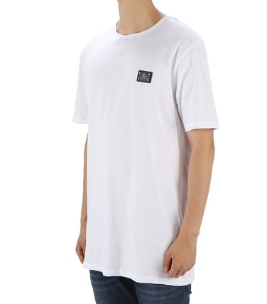 Street Style Plain Cotton Short Sleeves Designers Shirts