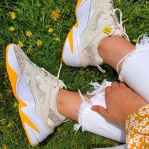 Nike M2K TEKNO Camouflage Low-Top Sneakers